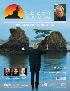 2013 Siletz Music Festival Performance Dates