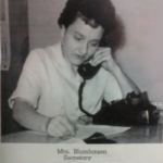 Eleanor Blumhagen at Work